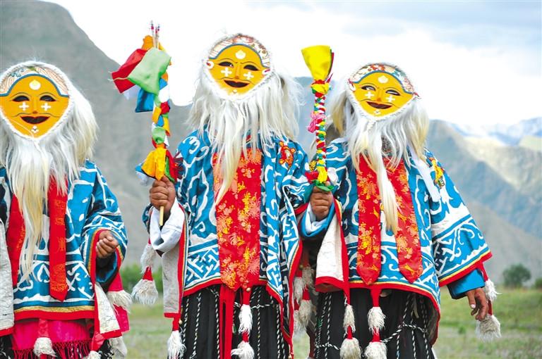 山南乃东雅砻扎西雪巴藏戏