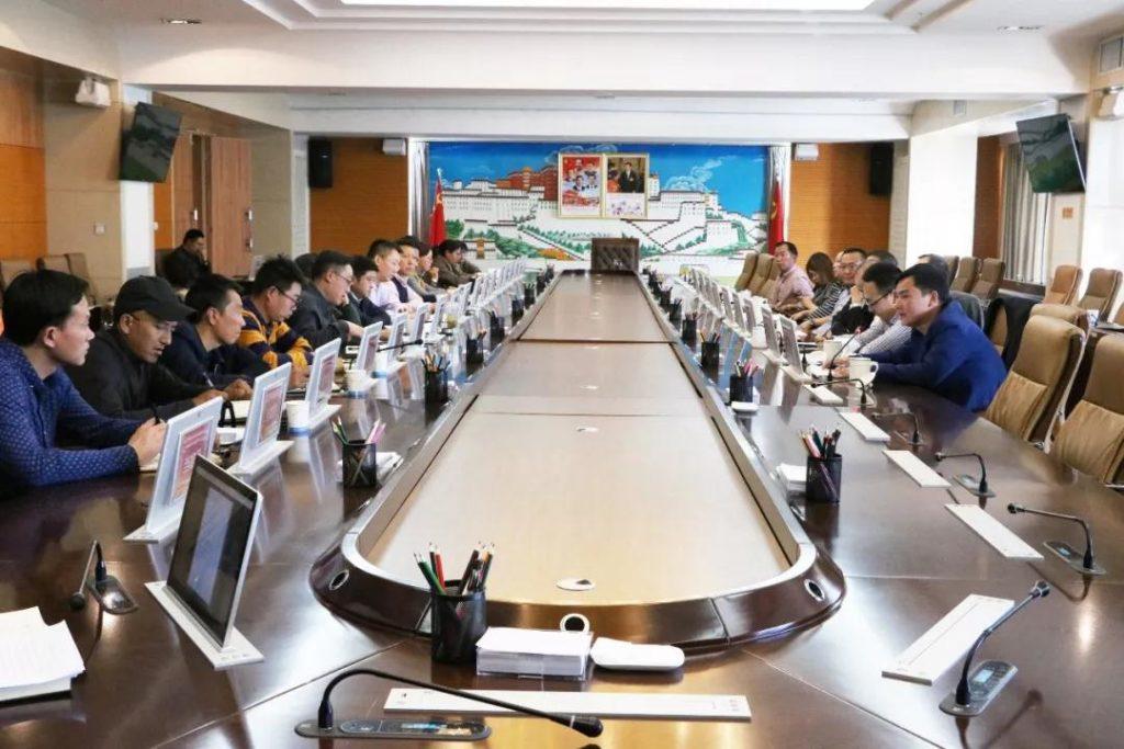 对口支援、旅游援藏| 中国康辉旅游集团与拉萨市政府举行座谈会